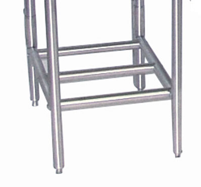 Advance Tabco K-550 Tubular Storage Rack, Stainless Steel, Under Drainboards