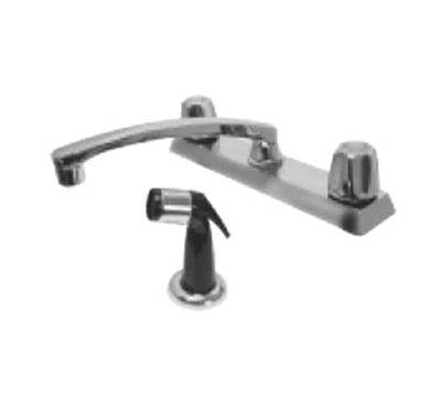 "Advance Tabco K58 Swing Spout Faucet, Spray, Deck-Mount, 8"" O.C."