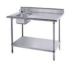 "Advance Tabco KMS-11B-306L 72"" Work Table -"