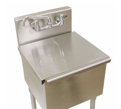 Utility Sink Accessories : ... LRSC-1818RE Stainless Cover for 6-81-18RE Laundry Sink - 18x18