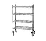 Advance Tabco MC-1848P ChrChrome Wire Shelving Unit w/ (4) Levels, 18x48x64""
