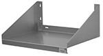 "Advance Tabco MS-18-24 24"" Wall Mount Microwave Shelf, Stainless"