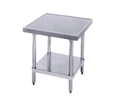 "Advance Tabco MT-SS-302 Equipment Stand - Adjustable Undershelf, 24x30x24"", All Stainless"