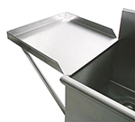 "Advance Tabco N-5-36 Drainboard, 21x36"", Square Korner Sinks ONLY"
