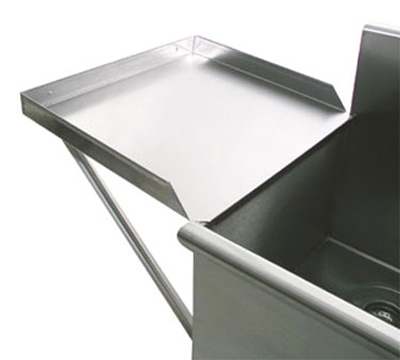 "Advance Tabco N-54-24 24x24"" Detachable Drainboard, for Budget Sinks"