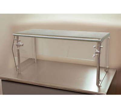 "Advance Tabco NSG-12-36 Self Service Food Shield - 1-Tier, 12x36x18"", Stainless Top Shelf"
