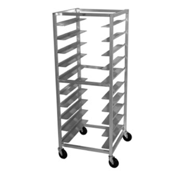 Advance Tabco OT10-6 Mobile Rack - (10) Tray Capacity, Full Height, Aluminum
