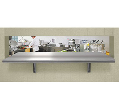 Advance Tabco PA-18-120 Pass-Thru Stainless Shelf - 18x120