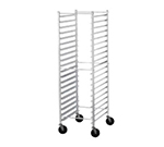 "Advance Tabco PR30-2K Mobile Pan Rack - Holds (30) 18x26"" Pans, Ribbed Angle, Front Load"