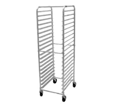 "Advance Tabco PR18-3W Mobile Pan Rack - Holds (18) 18x26"" Pans, Full Height, Front Load"