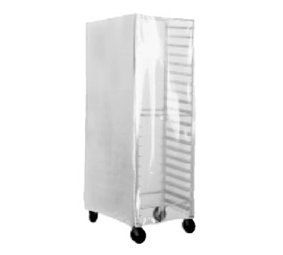 Advance Tabco PRC-1 Enclosed Rack Cover w/ Clear Front, Heavy Duty Plastic