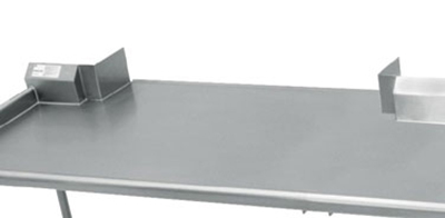 Advance Tabco TA-1 Modify Pass-Thru Shelf To Accommodate Roll Down Door