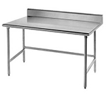 "Advance Tabco TSKG-243RE 36"" Residential Chef Table - 24"" W, 5"" Backsplash, 16-ga 430-Stainless"