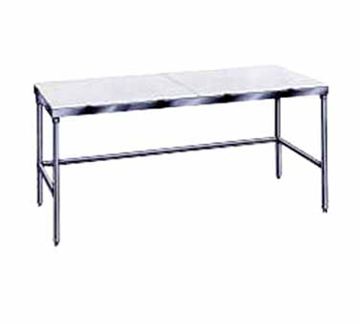 "Advance Tabco TSPT-309 108"" Work Table - 30"" W, Stainless"