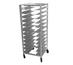Advance Tabco UR10 Full Height Mobile Universal Pan Rack - (10) Pan Capacity, Aluminum
