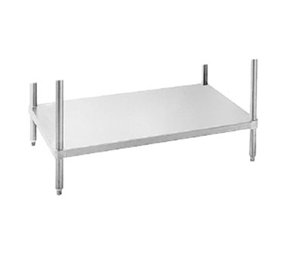 "Advance Tabco UG3096 Undershelf for 30x96"" Work Table, Galvanized Finish"