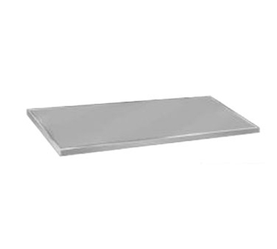 "Advance Tabco VCTC-246 Flat Countertop - 25x72"", 16-ga 304-Stainless, Satin Finish"