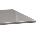 "Advance Tabco VSTC-244RE Residential Flat Countertop - Square Edge, 25x48"", 16-ga 304-Stainless"