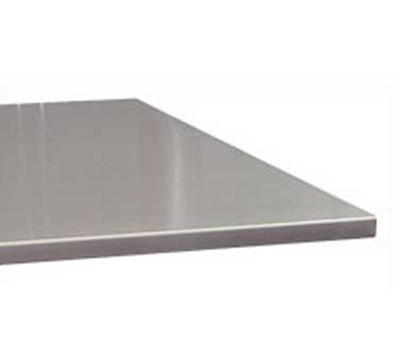 "Advance Tabco VSTC248RE Residential Flat Countertop - Square Edge, 25x96"", 16-ga 304-Stainless"
