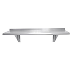 "Advance Tabco WS-12-48 Wall Mount Shelf - 12x48"", 18-ga 430-Stainless"