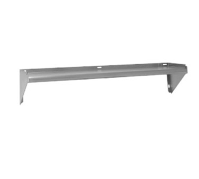 "Advance Tabco AWS-KD-24 24"" Wall Mount Shelf, Aluminum"