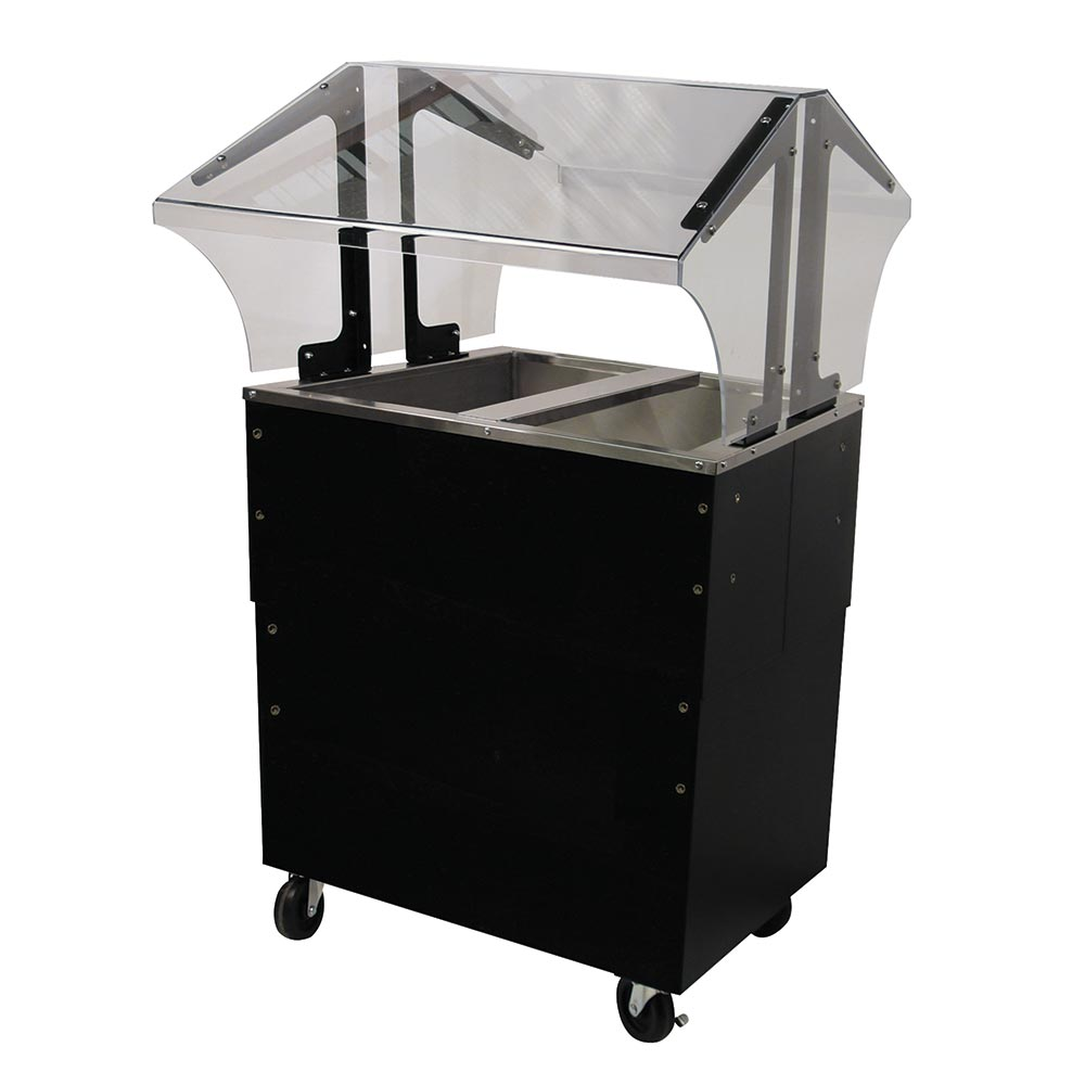 Advance Tabco B2-CPU-B-SB Portable Cold Food Buffet Table w/ Solid Base, Ice Cooled