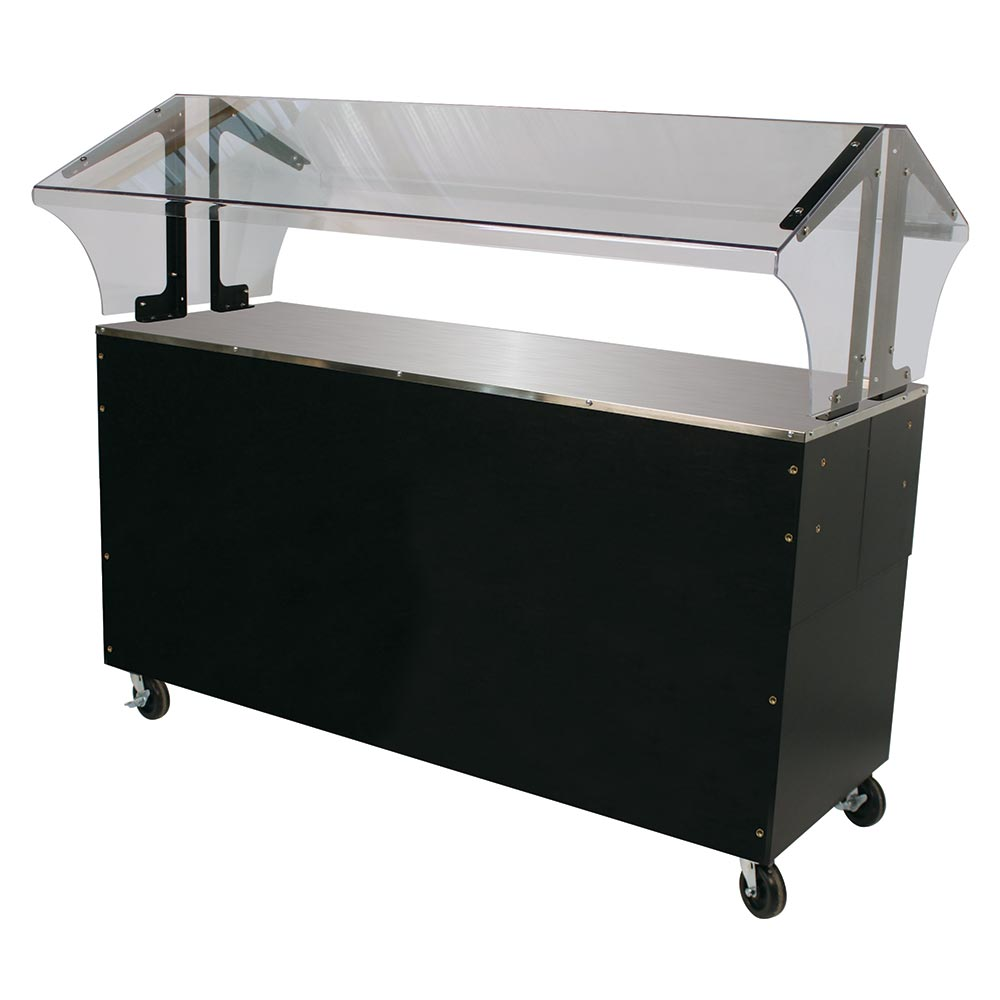 Advance Tabco B4-STU-B-SB Portable Buffet Table w/ Solid Top & Base, 4-Pan Size