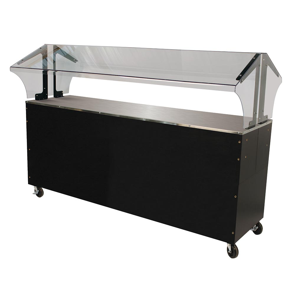 Advance Tabco B5-STU-B-SB Portable Buffet Table w/ Solid Top & Base, 5-Pan Size