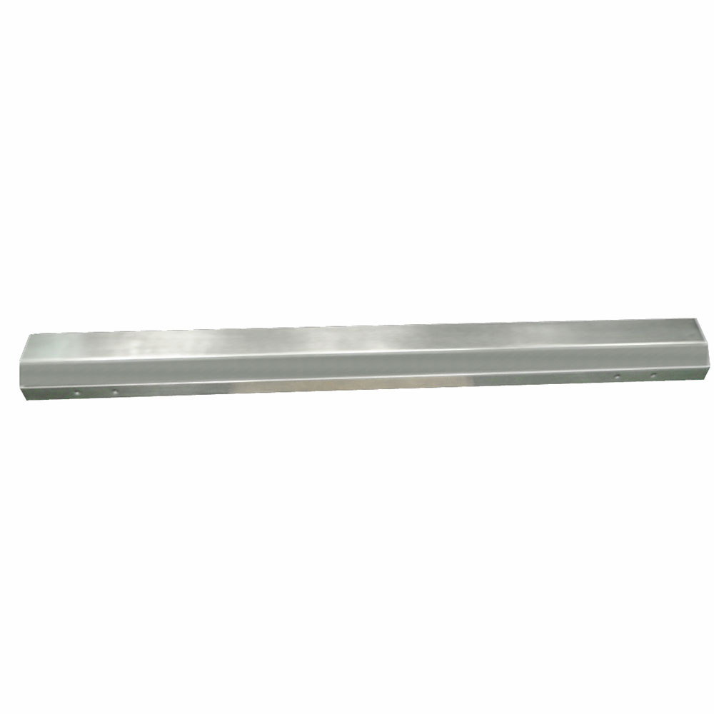 "Advance Tabco BG-60 Bumper Guard - Mounting Bracket, 2x4x60"", Stainless"