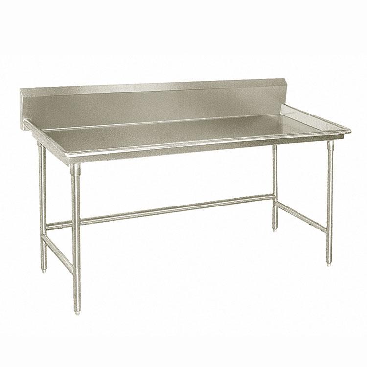 "Advance Tabco BSR-48 Sorting Table - 10.5"" Splash, 3"" Raised Edge, 30x48"", 16-ga 304-Stainless"