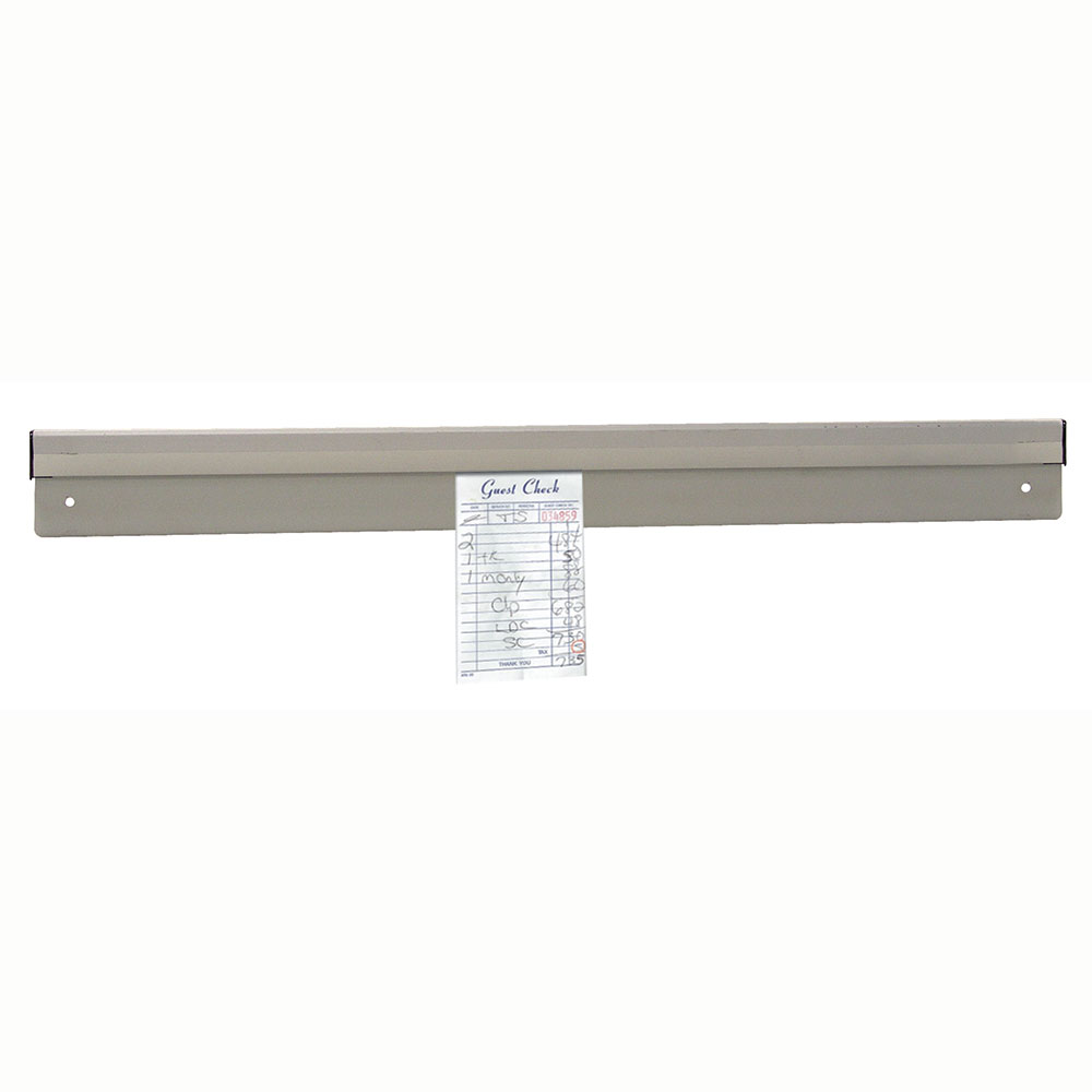"Advance Tabco CM-48 48"" Check Minder - Floating Ball Mechanism, Aluminum"