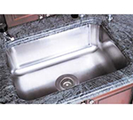 Advance Tabco CO-1014A-05RE Under Mount Sink w/ (1) 10x14x5-in Bowl & Drain Opening, Stainless