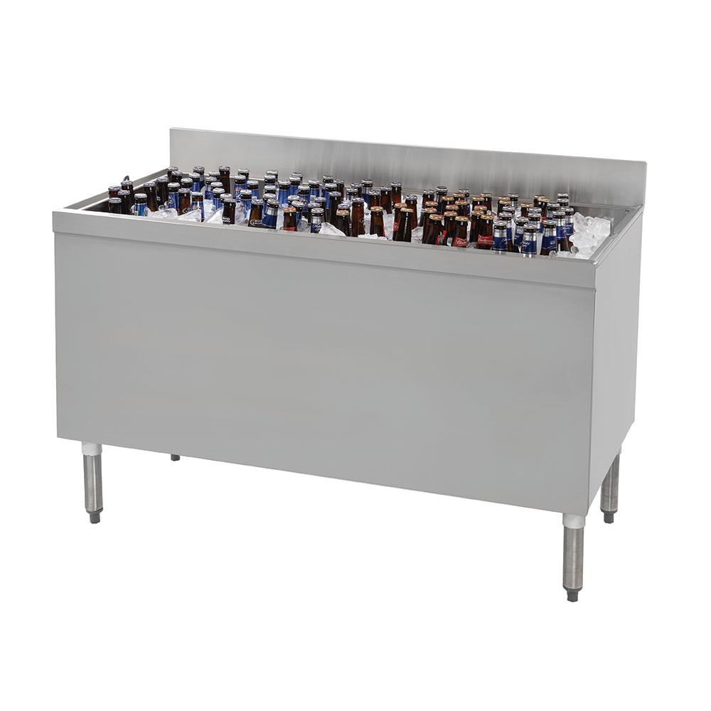 """Advance Tabco CRBB-48 48"""" Ice Well Bottle Cooler - Holds (288) 12-oz Bottles, 115v"""