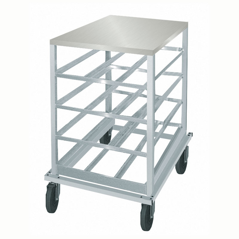 """Advance Tabco CRSS10-54 32.63""""H Mobile Can Rack w/ (54) #10 or (72) #5 Capacity"""