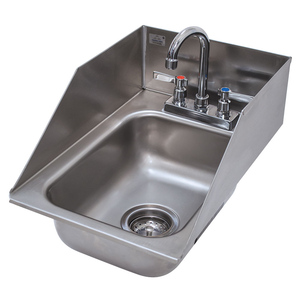 "Advance Tabco DI-1-5SP (1) Compartment Drop-in Sink - 10"" x 14"", Drain Included"