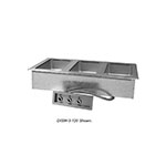 Advance Tabco DISW-6-240-M 96-in Drop-In Hot Food 6-Well Unit, Infinite, Manifold Drain, 208/240v/1ph