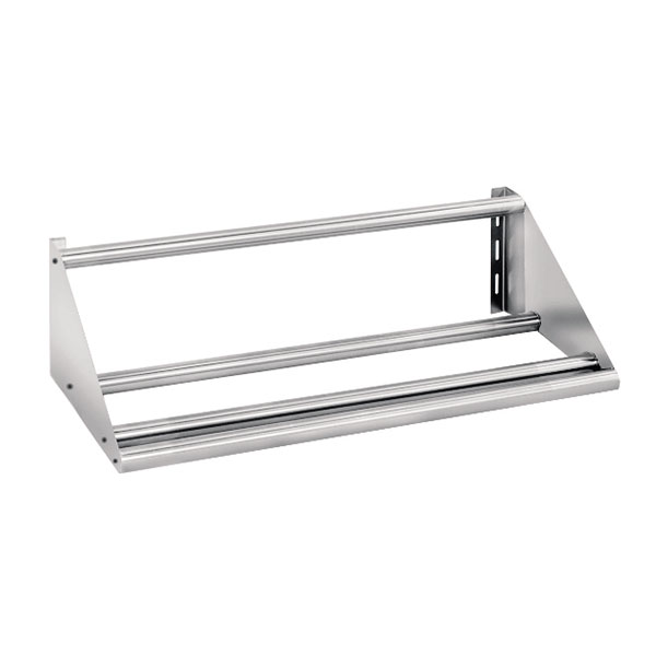 "Advance Tabco DT-6R-23 62"" Tubular Wall Mounted Shelf - Holds Dish Racks"