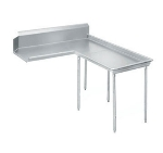 Advance Tabco DTC-G60-96R 95-in Island Clean Dishtable, Left to Right, 14-Ga. Stainless