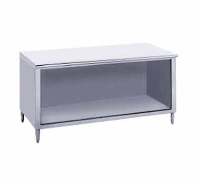 Advance Tabco EB-SS-243 36-in Work Table w/ Open Cabinet 24-in Wide Stainless Restaurant Supply