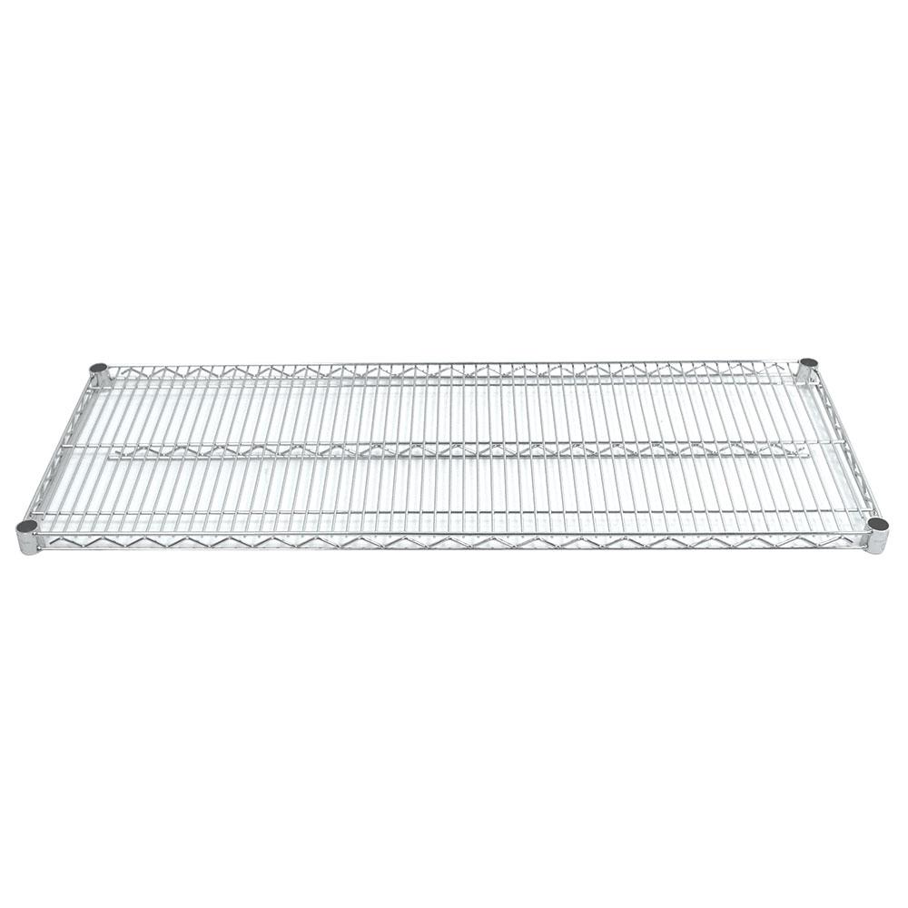 "Advance Tabco EC-2442 Chrome Wire Shelf - 42x24"""