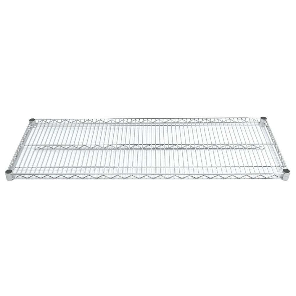 "Advance Tabco EC-2460 Chrome Wire Shelf - 24x60"""
