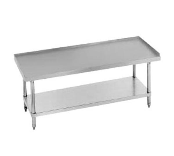 Advance Tabco EG-LG-244-X 48 in Equipment Stand 24 in D x 24 in H Stainless Steel Top Restaurant Supply