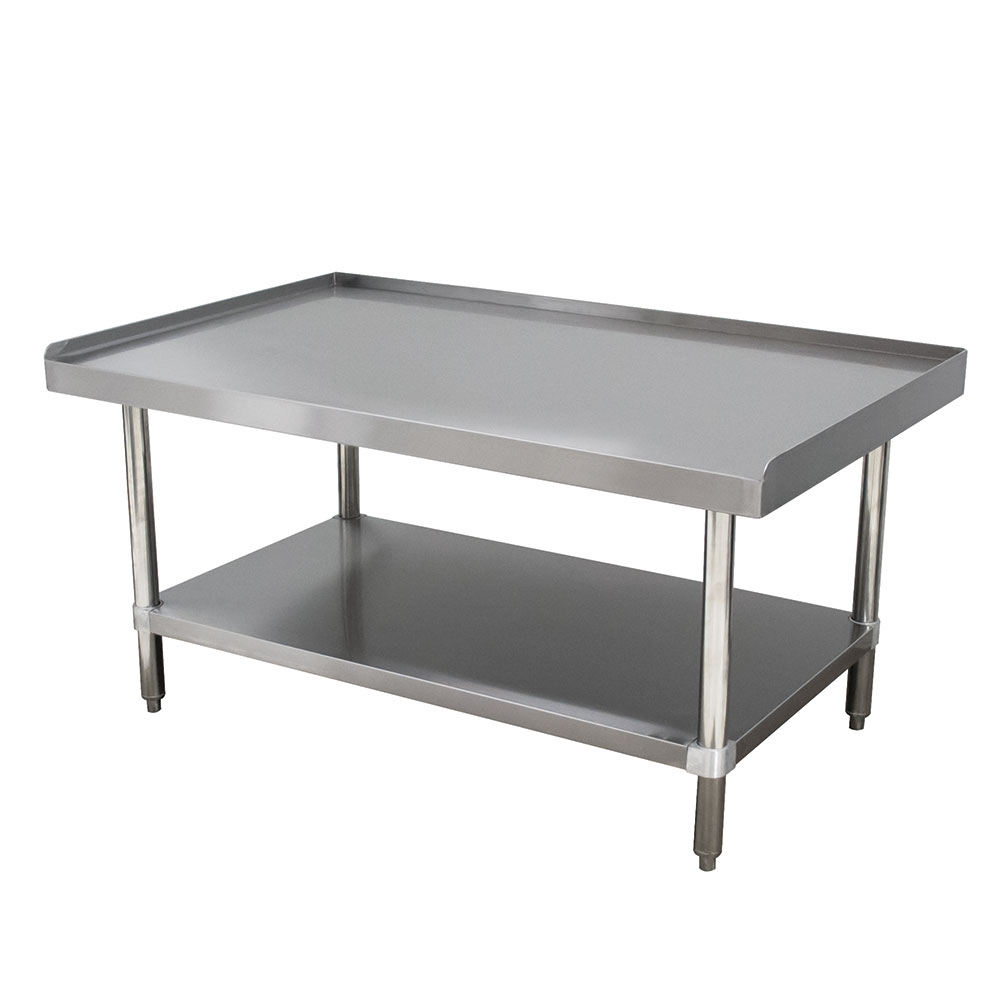"""Advance Tabco ES-244 48"""" x 24"""" Stationary Equipment Stand for General Use, Undershelf"""