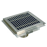 Advance Tabco FD1 Grate for FDR-1212 Floor Drain, Stainless