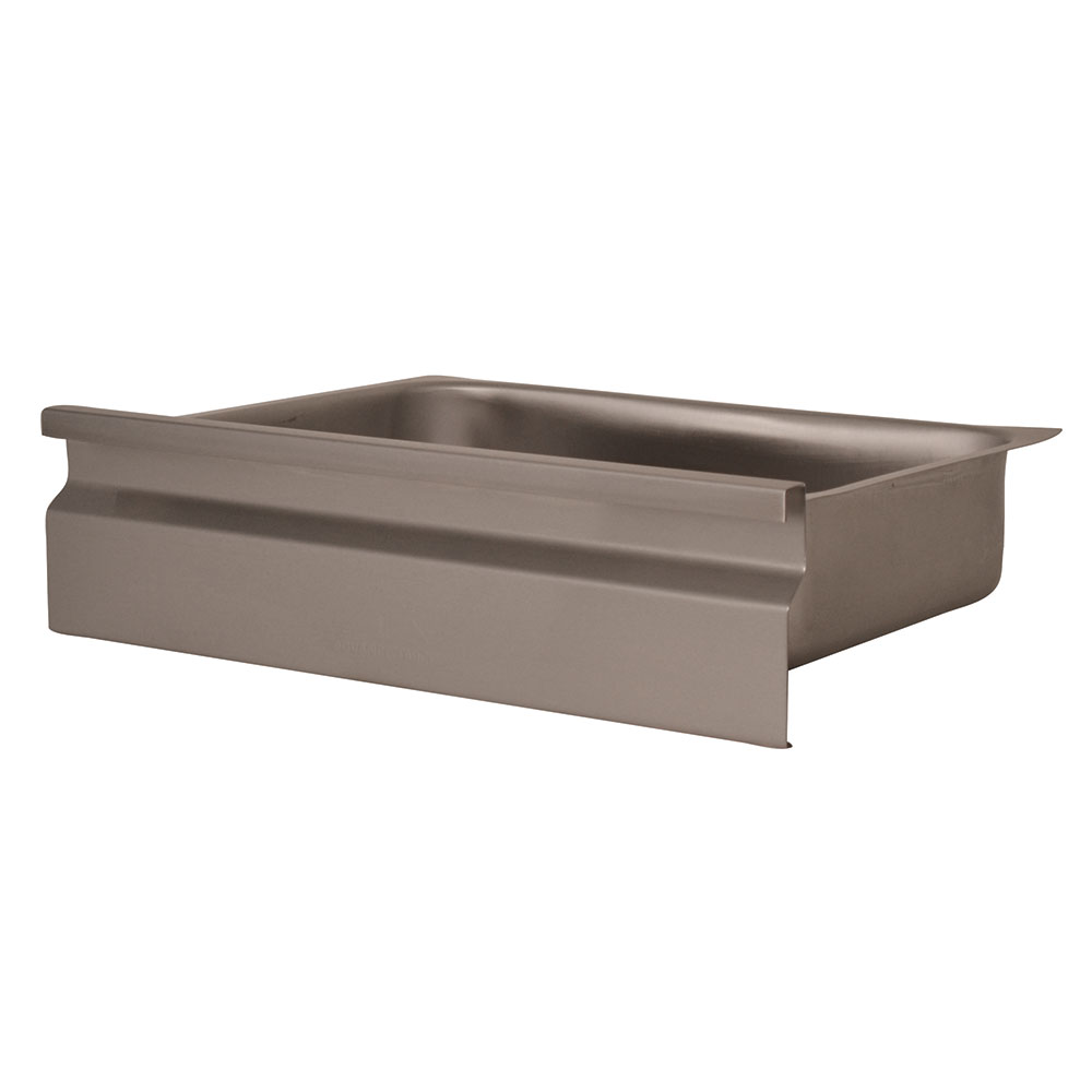 Advance Tabco FG-2020 Budget Drawer - Galvanized Drawer Pan, 20x20x5