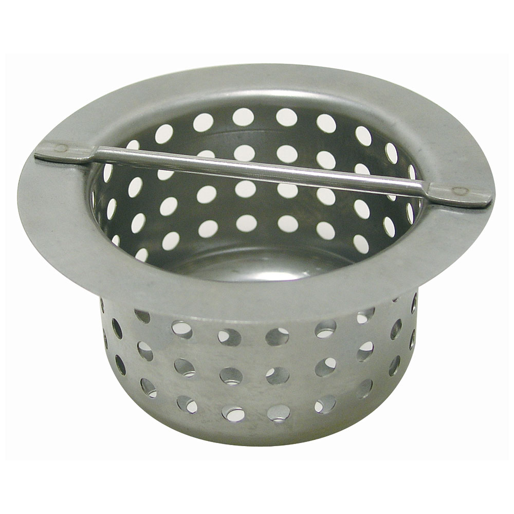 Advance Tabco FT-2 Replacement Strainer Basket for Floor Trough, 4x4x4