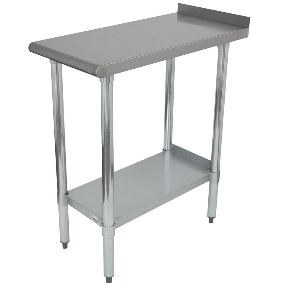"Advance Tabco FTS-3015 Equipment Filler Table w/ Undershelf - 15"" x 30"", Stainless"