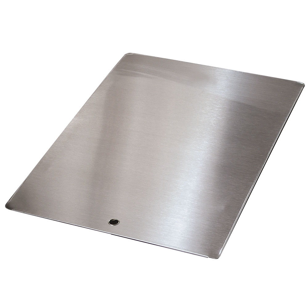 "Advance Tabco K-455E Sink Cover, 20x20"", Stainless Steel"