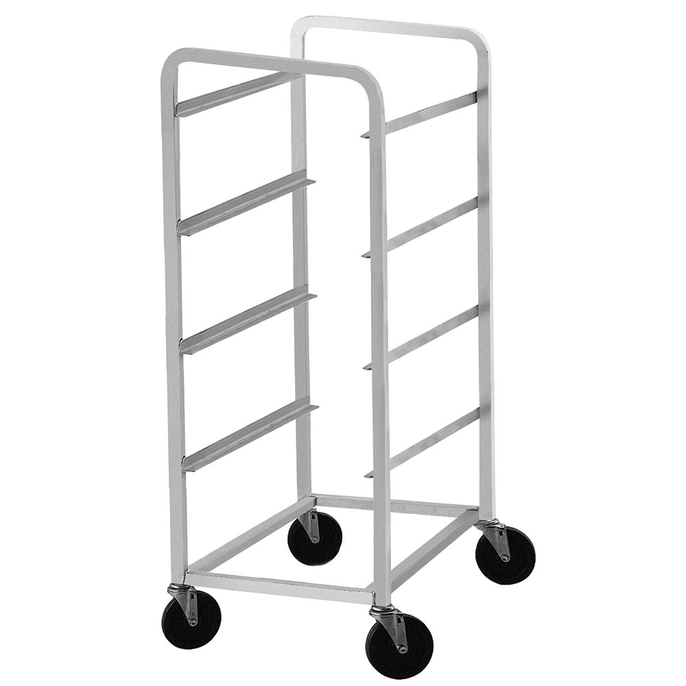 Advance Tabco LR1 Lug Cart, Full Height, Open Sides, Welded Aluminum, Holds 1 Lug