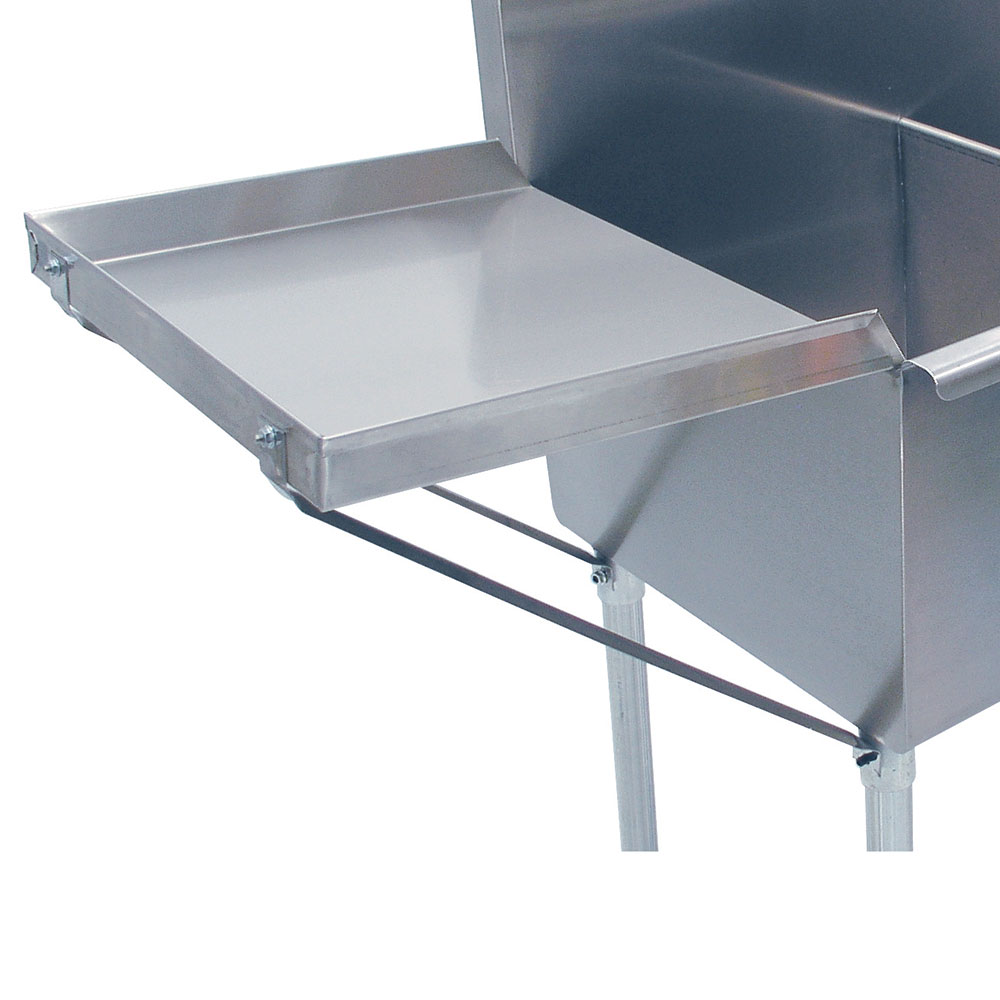 "Advance Tabco N-5-48 Drainboard, 21x48"", Square Korner Sinks ONLY"